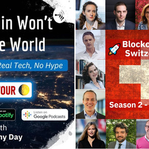 "Podcast ""Blockchain won't save the world"""