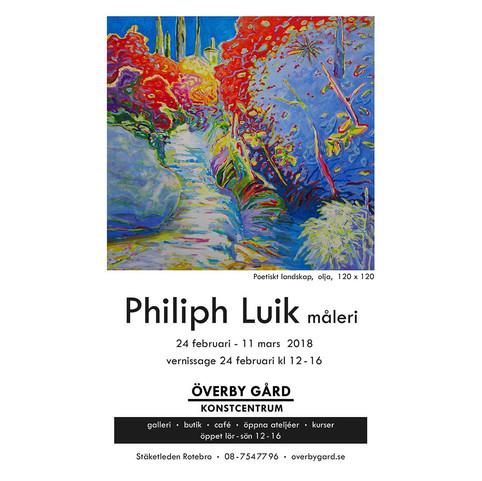 Vernissage kort - Philiph Arvo Luik