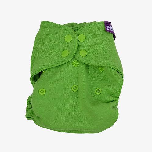 Ullskalblöja - Grön - 6-16 kg