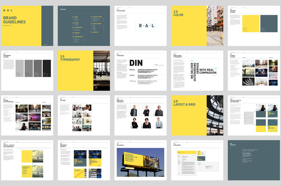 BAL brand guidelines