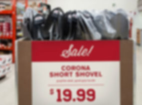 Central Valley price signage discount
