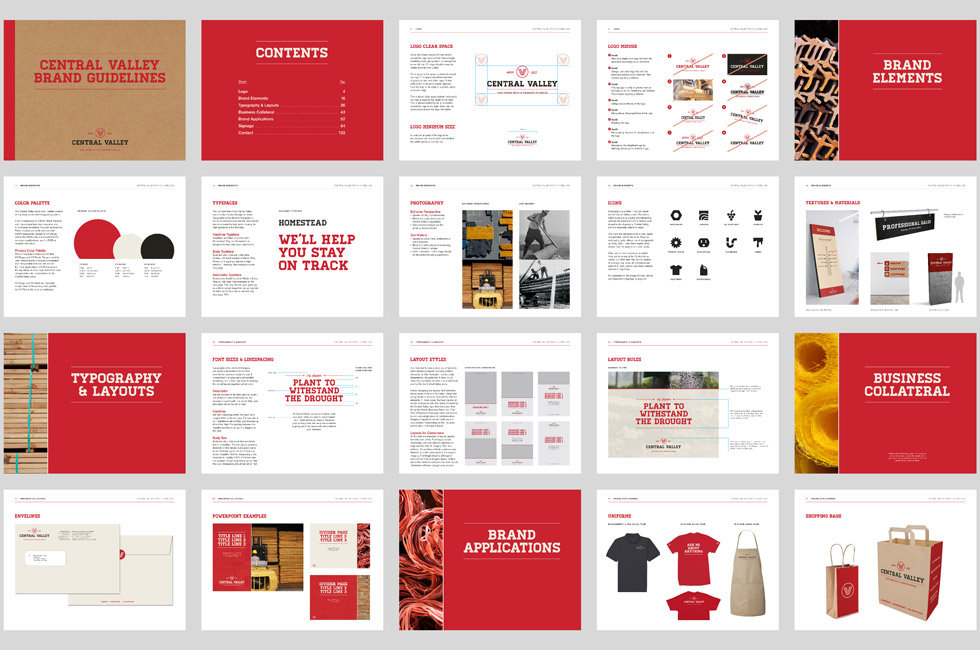 Central Valley brand guidelines