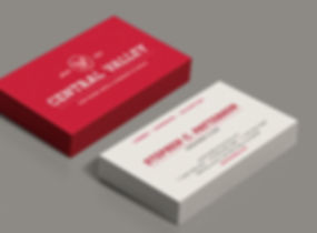 Central Valley business card