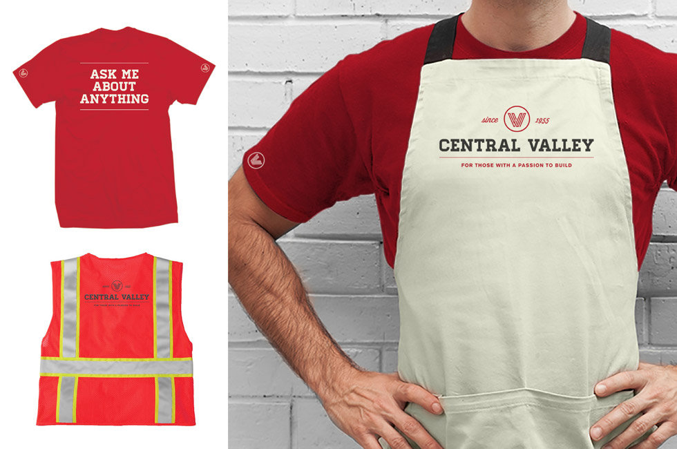 Central Valley uniforms