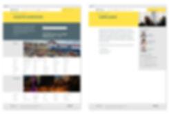BAL website design