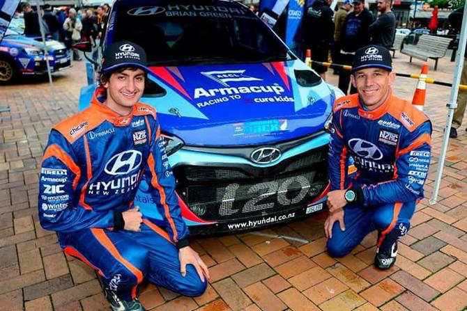 KIWI TARGETS JUNIOR WRC