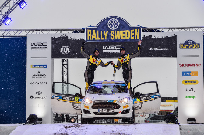 Huge learning as Holder and Farmer successfully finish Rally Sweden