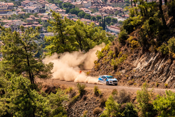 Holder and Farmer end Rally Turkey at speed