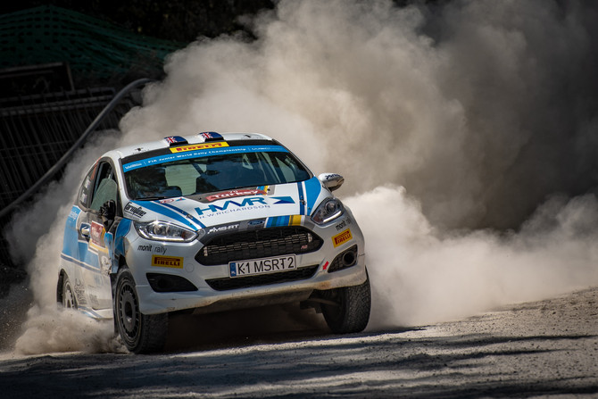 HOLDER THIRD FASTEST JWRC DRIVER ON DAY TWO OF RALLY