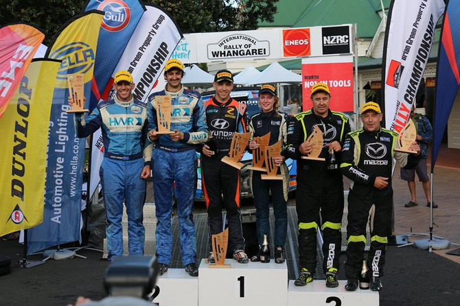 KIWIS TAKE OUT TOP SPOT AT ENEOS INTERNATIONAL RALLY WHANGAREI