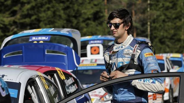 PENULTIMATE ROUND OF JWRC CHAMPS FOR MOUNT MAUNGANUI'S DAVID HOLDER