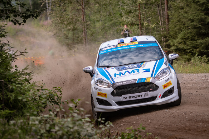 DAVE HOLDER OUT OF RALLY FINLAND; WILL RE-JOIN SUNDAY