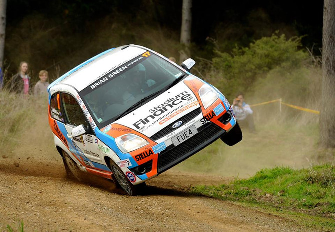 South Canterbury rally aids Holder's JWRC prep