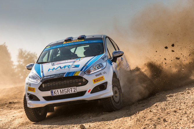 DAVE HOLDER STEADY IN FIFTH IN PORTUGAL JWRC