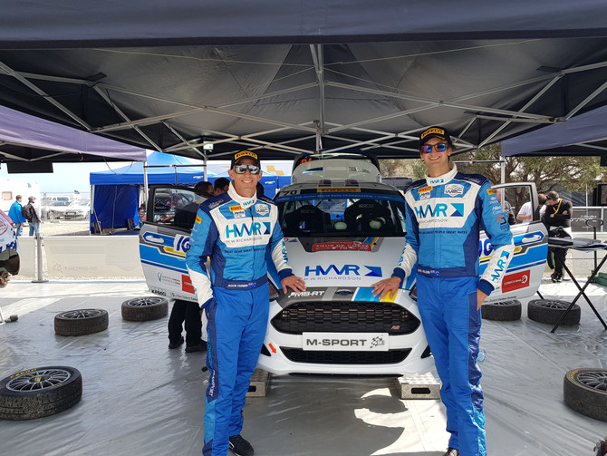 Domestic rally aids Holder's international JWRC campaign