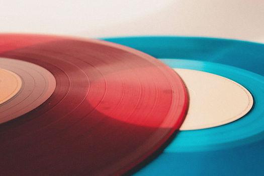 Records colorés