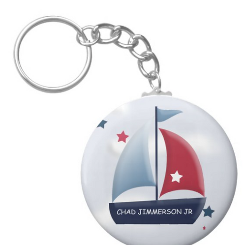 Chad Jimmerson Jr Sailing Keychain