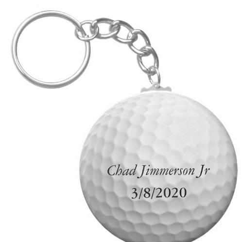 Chad Jimmerson Jr Golf Keychain