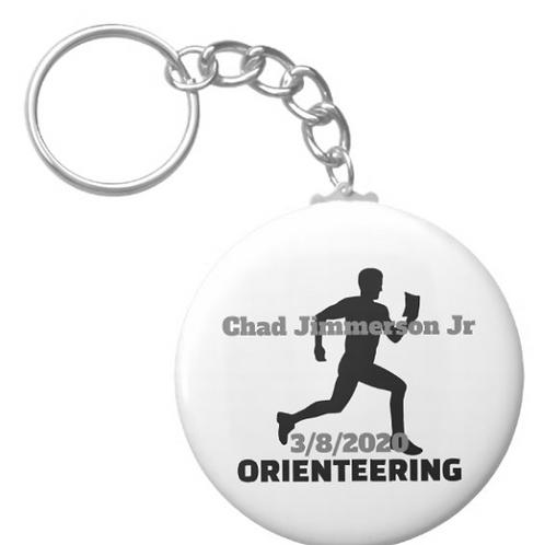 Chad Jimmerson Jr Running Keychain