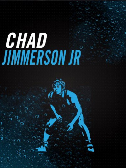 Chad Jimmerson Jr Wrestling Art
