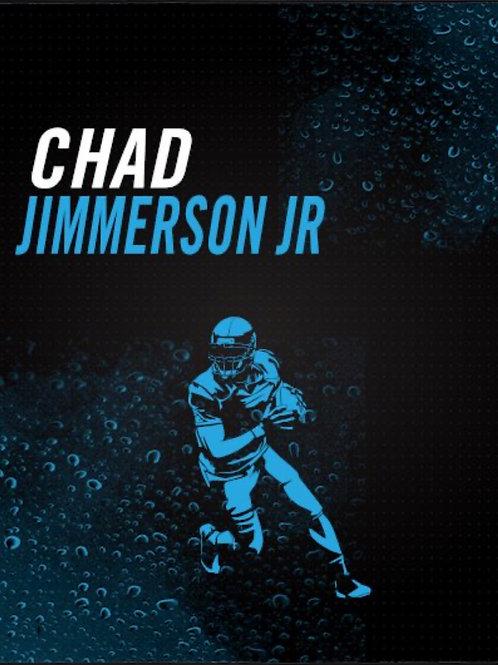Chad Jimmerson Jr Football Art Work