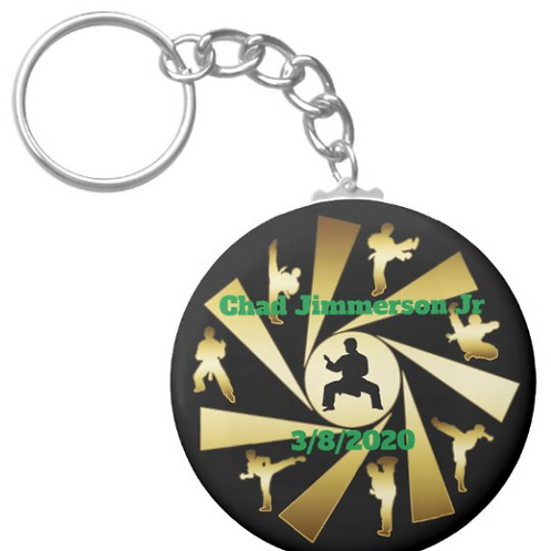 Chad Jimmerson Jr Mixed Martial Arts Keychain
