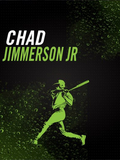 Chad Jimmerson Jr Baseball Art Work