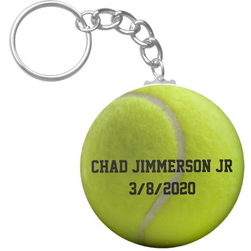 Chad Jimmerson Jr Netball Keychain