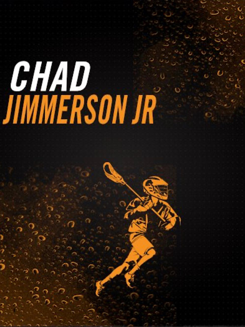 Chad Jimmerson Jr Lacrosse Artwork