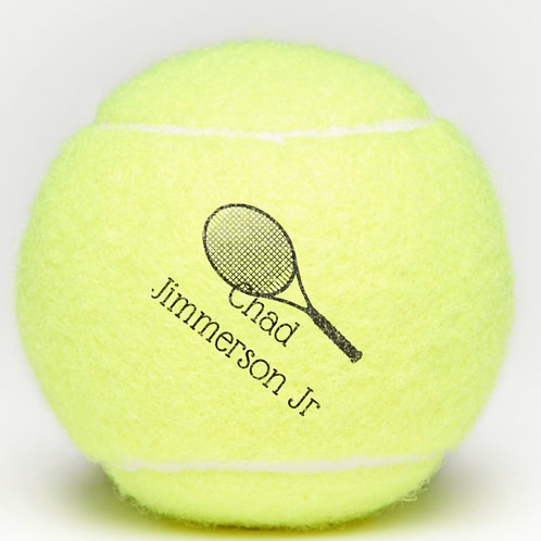 Chad Jimmerson Jr Tennis Ball