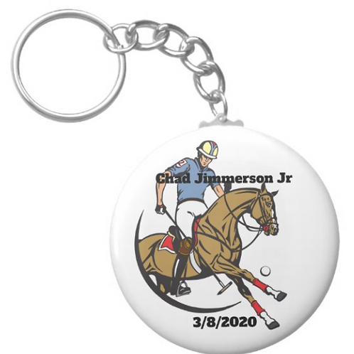 Chad Jimmerson Jr Polo Keychain