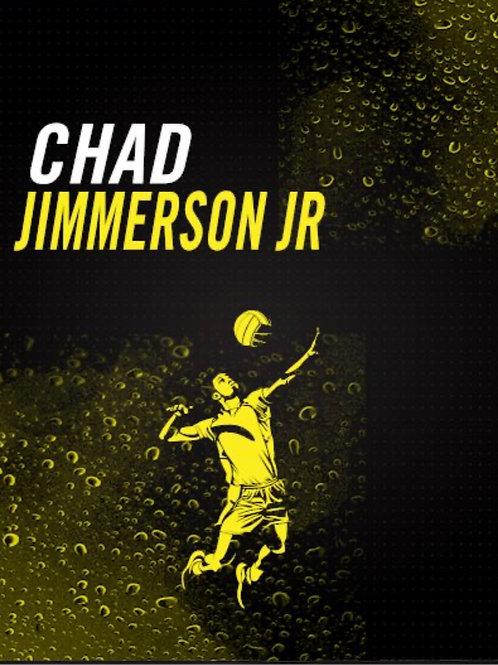 Chad Jimmerson Volleyball Art Work