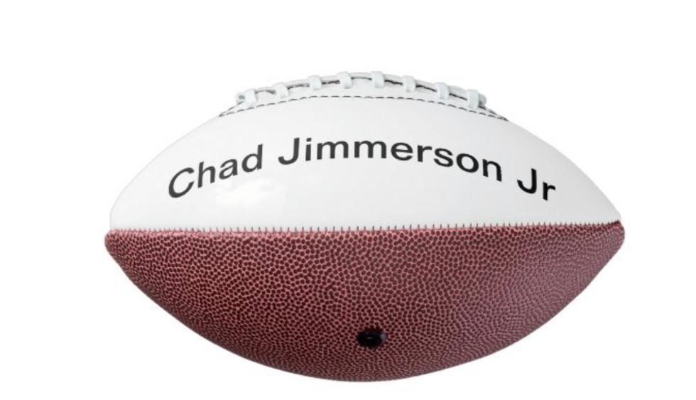 Chad Jimmerson Jr Football $85