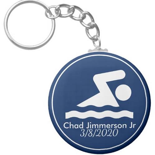 Chad Jimmerson Jr Diving Key chain