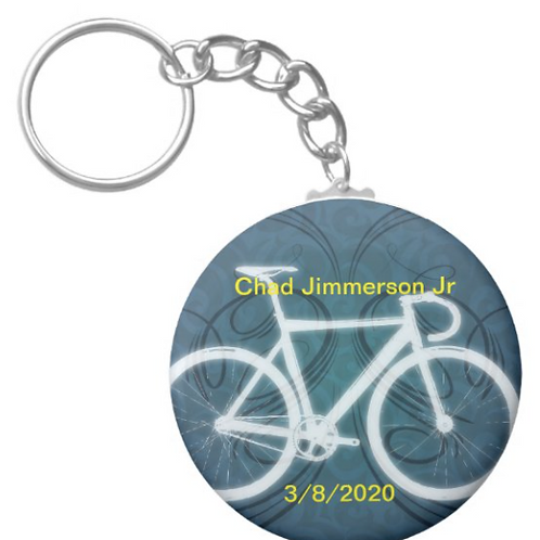 Chad Jimmerson Jr Cycling Key chain
