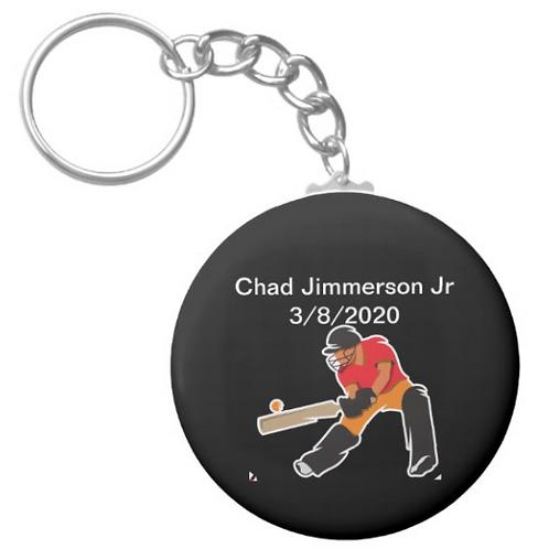Chad Jimmerson Jr Cricket Keychain