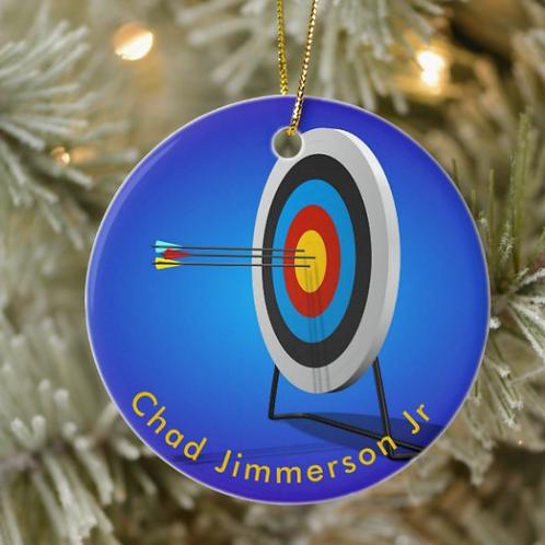 Chad Jimmerson Jr Archery Ornament