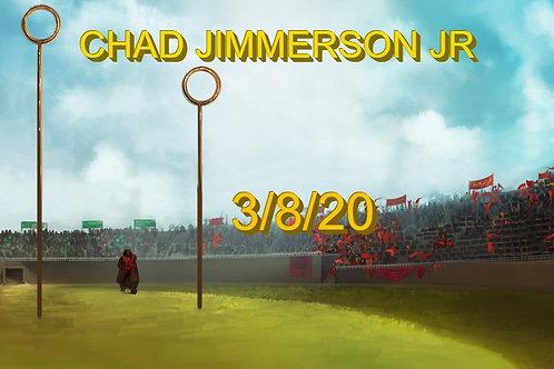 Chad Jimmerson Jr Quidditch Keychain