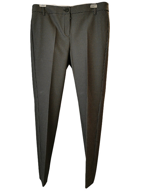Pantalone Emme Marella microfantasia rombi
