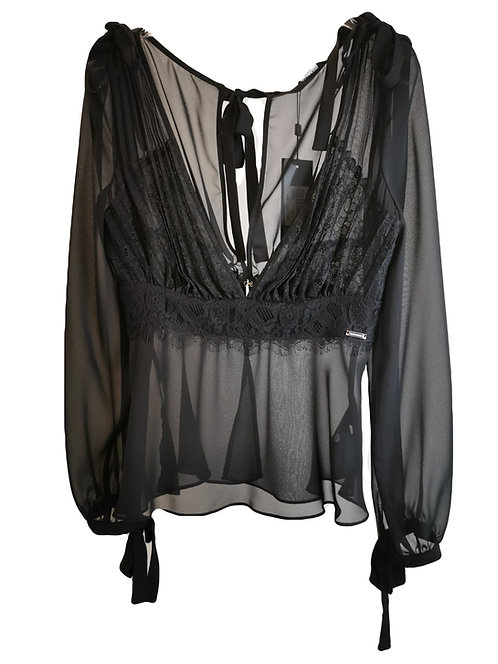 blusa Guess by Marciano con pizzo