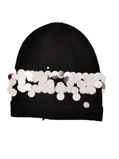 Twinset cappello con paillettes