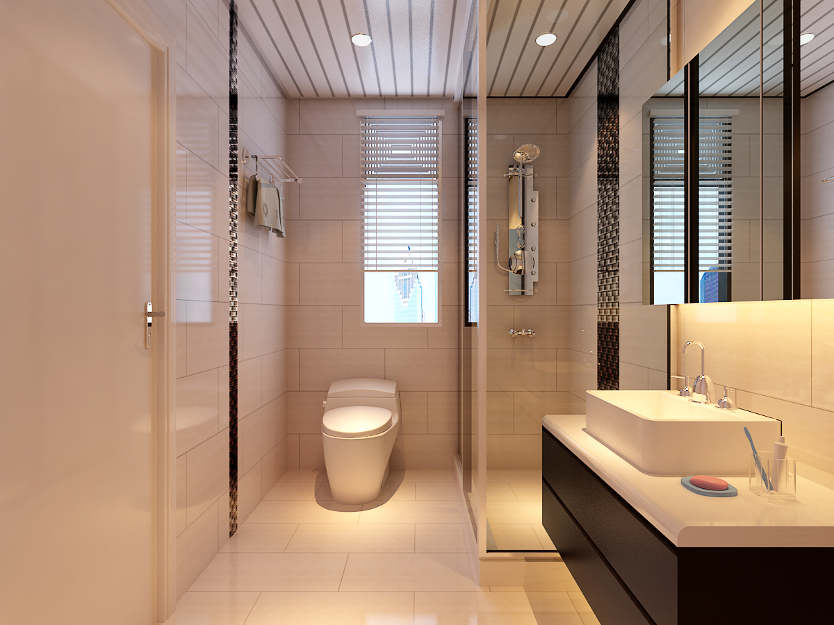 MI001客浴室效果對照
