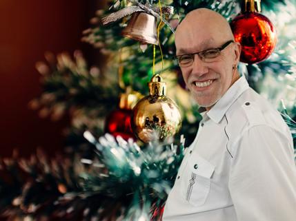 Weihnachtsfeier mit Adriaan