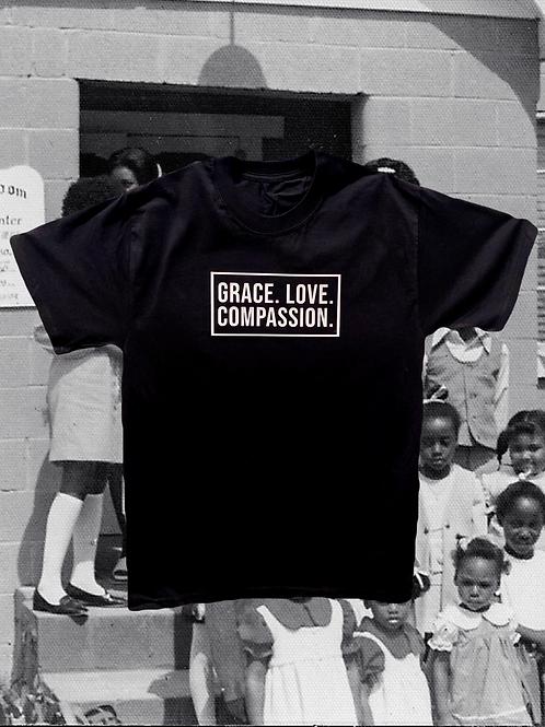 Grace. Love. Compassion.