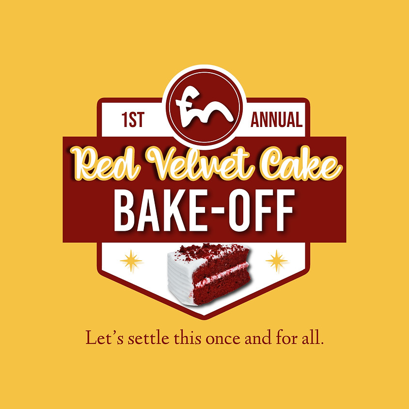 Red Velvet Cake Bake-Off