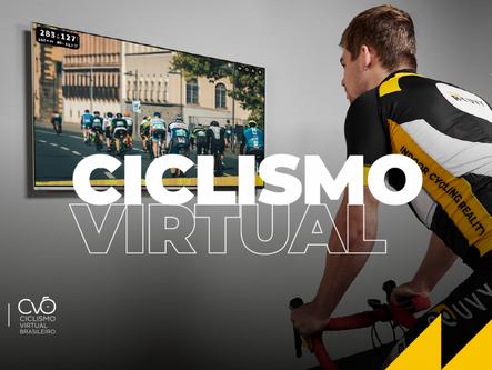 Ciclismo Virtual Brasileiro no JUBs Brasília