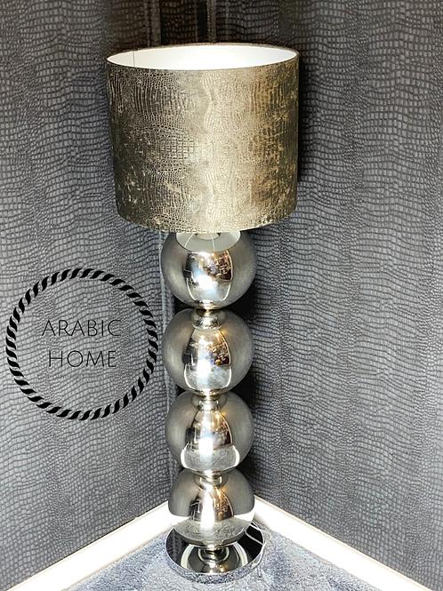 Bollenlamp zilver