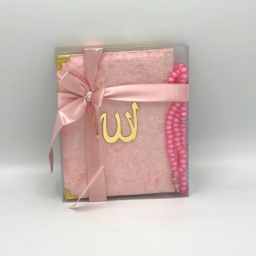 Roze koran boekje