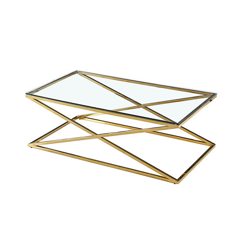 Luxe Cross Salontafel Gold