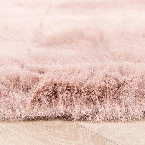 Fluffy tapijt Roze